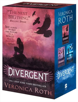 Divergent Trilogy Boxed set (Books 1-3) - Roth Veronica