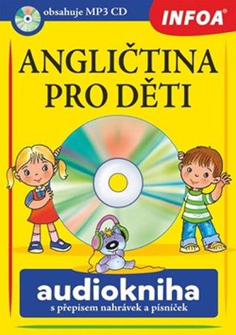 Angličtina pro děti - audiokniha + CDmp3 - neuveden