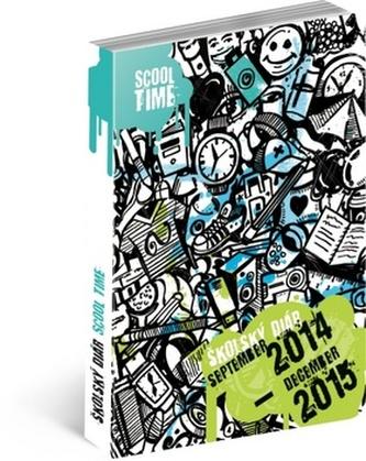 Scool Time školský diár 2014-2015