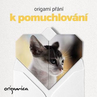Origami přání - Miluji kočky (kotě) - neuveden