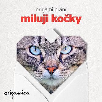Origami přání - Miluji kočky - neuveden