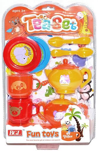 Nádobí dětské - set 10 kusů - neuveden