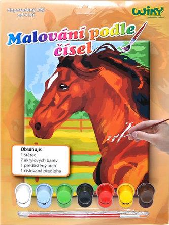 Malování podle čísel - Kůň - neuveden