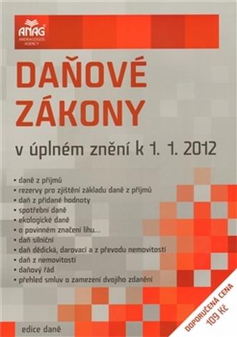 Daňové zákony v úplném znění 2012