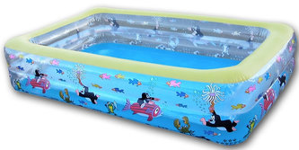 Krtek - Bazén dětský 262x175x56 cm - neuveden