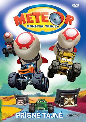 Meteor Monster Trucks 4 - Přísně tajné - DVD - neuveden