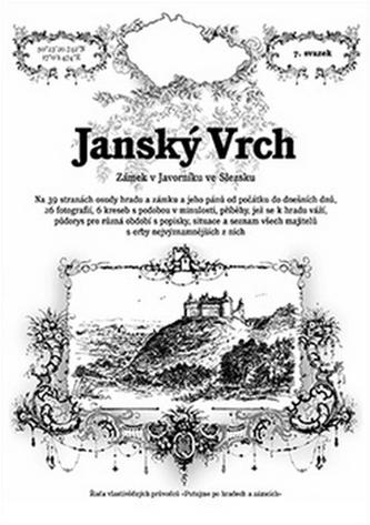 Janský VrchRostislav VojkovskýRadim MohylaBrožovaná bez přebalu matná978-80-87712-49-8 - Rostislav Vojkovský