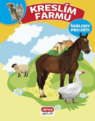 Kreslím Farmu - šablony pro děti - Bulackij Svjatoslav