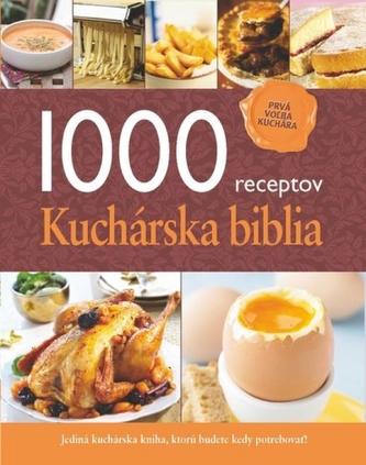 1000 receptov Kuchárska biblia