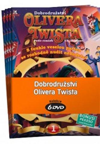 Dobrodružství Olivera Twista 1 - 6 / kolekce 6 DVD - Dickens Charles