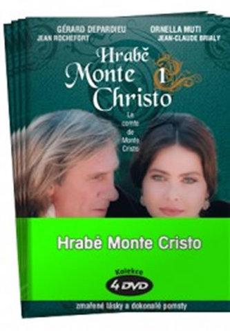 Hrabě Monte Christo 1 - 4 / kolekce 4 DVD - Dumas Alexandre