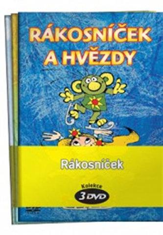 Rákosníček - kolekce 3 DVD - Smetana Zdeněk