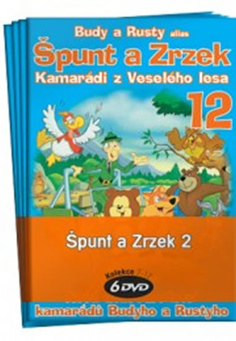 Špunt a Zrzek 2. - kolekce 6 DVD - neuveden