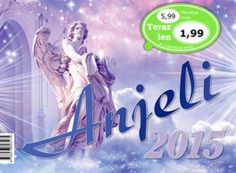Anjeli 2015 - stolový kalendár