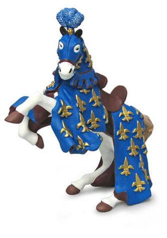 Kůň prince Filipa modrý
