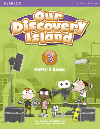 Our Discovery Island Pupil´s Book 3 with Online Access - Debbie Peters