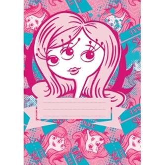 Příšerky Girls - školní sešit A5, 40 listů, nelinkovaný - neuveden