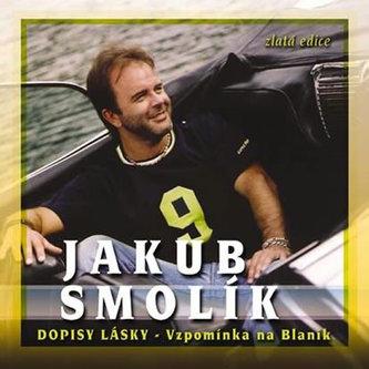 Jakub Smolík - Dopisy lásky - vzpomínka na Blaník - CD - neuveden
