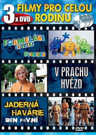 Filmy pro celou rodinu - 3 DVD - neuveden