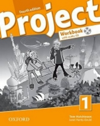 Project Fourth Edition 1 Workbook with Audio CD and Online Practice (International English Version) - Hutchinson Tom