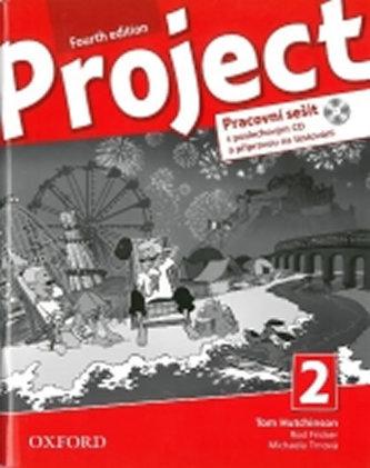 Project Fourth Edition 2 Pracovní sešit s poslechovým CD a přípravou na testování - Hutchinson, T.; Hardy-Gould, J.; Trnová, M.