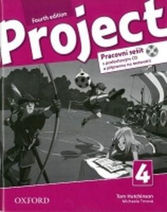 Project Fourth Edition 4 Pracovní sešit s poslechovým CD a přípravou na testování - Hutchinson, T.; Hardy-Gould, J.; Trnová, M.