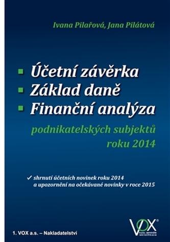 Účetní závěrka - Základ daně - Finanční analýza - Jana Pilátová