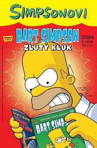 Simpsonovi - Bart Simpson 10/2014 - Žlutý kluk - Groening Matt