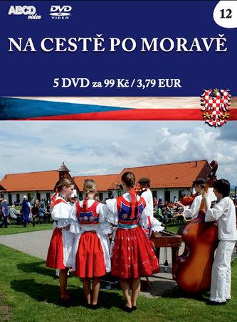 Na cestě po Moravě - 5 DVD - neuveden