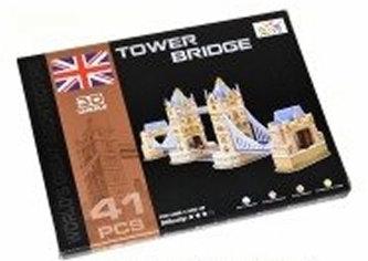 Puzzle 3D - Tower Bridge (41 dílků) - neuveden