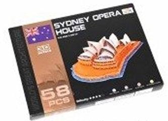 Puzzle 3D - Opera v Sydney (58 dílků) - neuveden