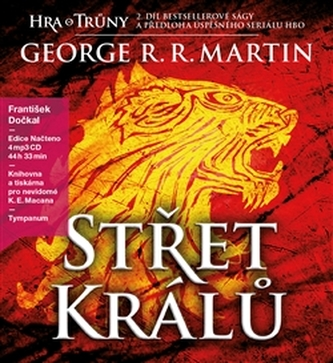 Střet králů-CD - George R.R. Martin