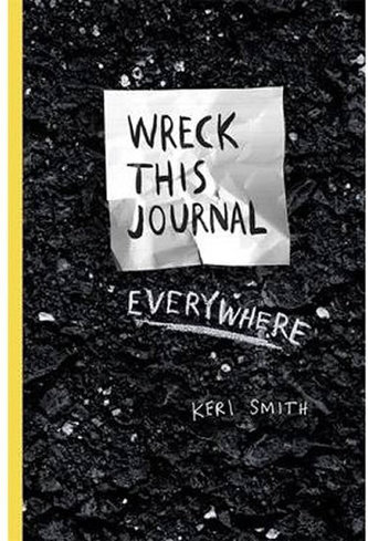 Wreck This Journal Everywhere - Smithová Keri