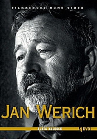 Jan Werich - Zlatá kolekce - 4DVD - neuveden