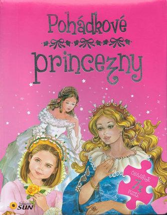 Pohádkové princezny - 7 puzzle s pohádkou - neuveden