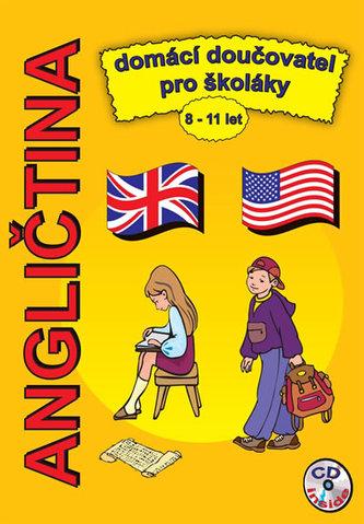 Angličtina domácí doučovatel pro školáky 8-11 let + CD - Pařízková Štěpánka