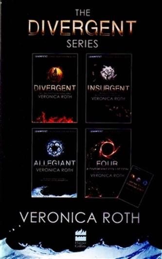 Divergent (BOOKS 1-4 plus World of Divergent) - Roth Veronica