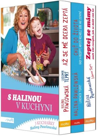 S Halinou v kuchyni BOX - Halina Pawlowská, Lubomír Teprt