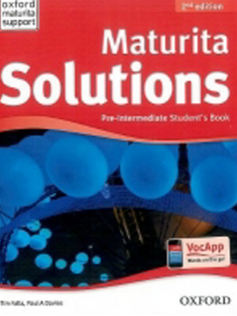 Maturita Solutions Pre-Intermediate Student´s Book Czech Edition - Tim Falla; P.A. Davies