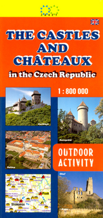 The Castles and Chateaux 1:800 000 - Jan Halady