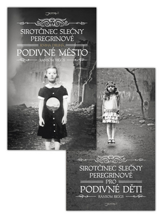 Balíček 2 ks Sirotčinec slečny Peregrinové Pro podivné děti + Podivné město