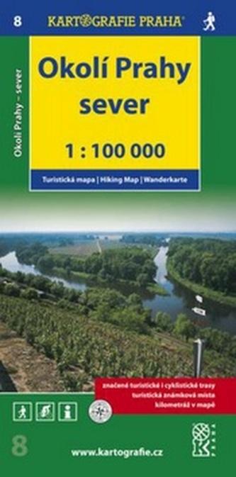 Okolí Prahy Sever 1:100 000