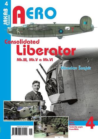 Consolidated B-24 Liberator Mk.III,Mk.V a Mk.VI - Šnajdr Miroslav
