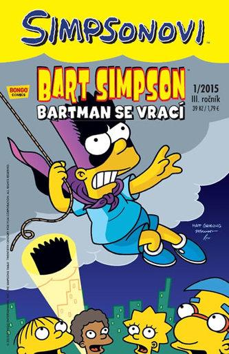 Simpsonovi - Bart Simpson 1/15 - Bartman se vrací - Groening Matt