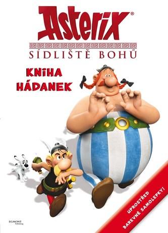 Asterix Sídliště bohů - Kniha hádanek se samolepkami - Goscinny R., Uderzo A.