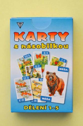Karty s násobilkou - Násobení 1-5 - Flösslerová Dobruška, Mgr.