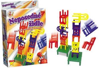 Neposedné židle - cestovní hra - neuveden