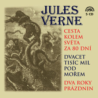 Cesta kolem světa za 80 dní, Dvacet tisíc mil pod mořem - Jules Verne
