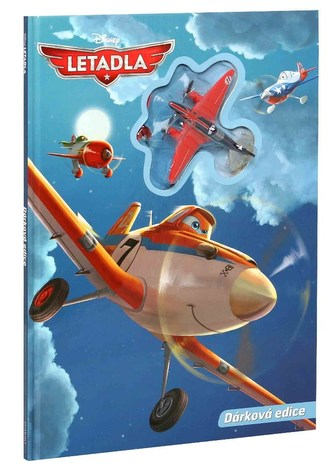 Knížka Letadla s hračkou - Disney Walt