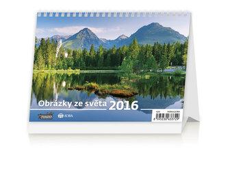 Obrázky ze světa 2016 - stolní kalendář